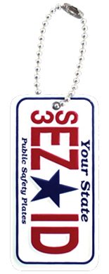 Advertise your promotional event using miniature key chains made from recycled aluminum
