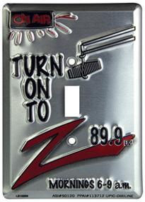 Custom Single Light Switch for bars and restaurants.