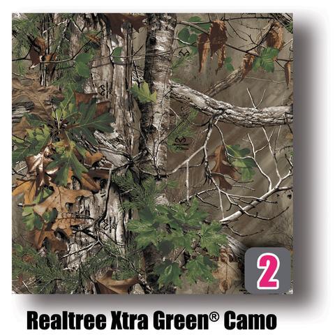 #2 - Realtree Xtra Green Camo Patters