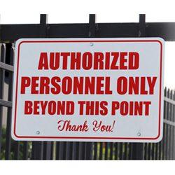 Heavy Duty Signs | .080 Aluminum